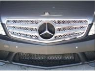 Calandre Look AMG grise/chrome Mercedes W204